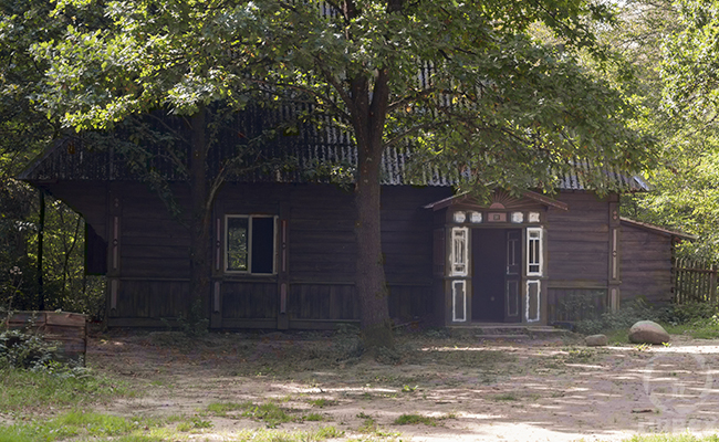 abandoned house in Kampinos