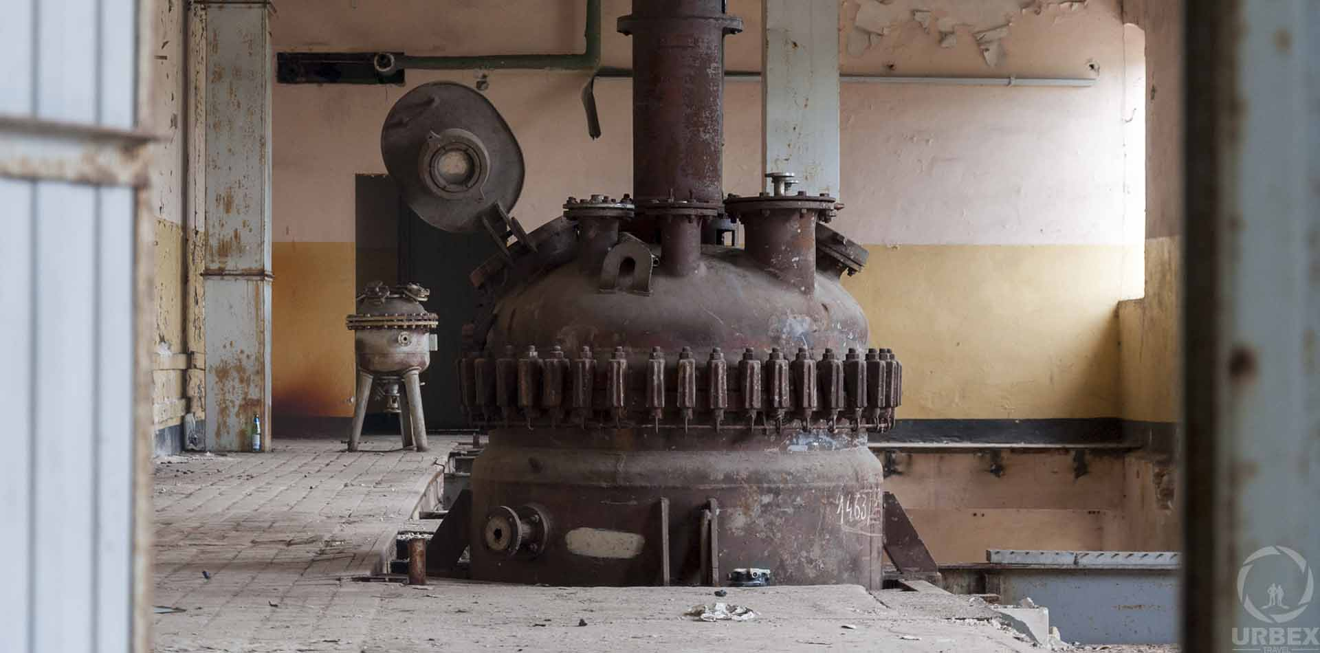 abandoned factory in warsaw