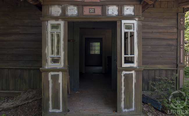 abandoned house in europe