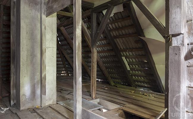 haunted house attic