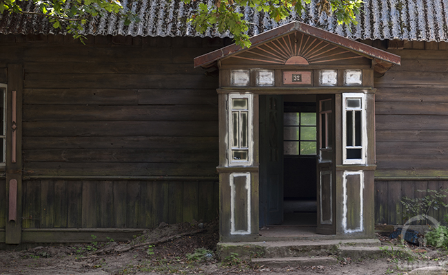 haunted forester's lodge in the middle of the forest