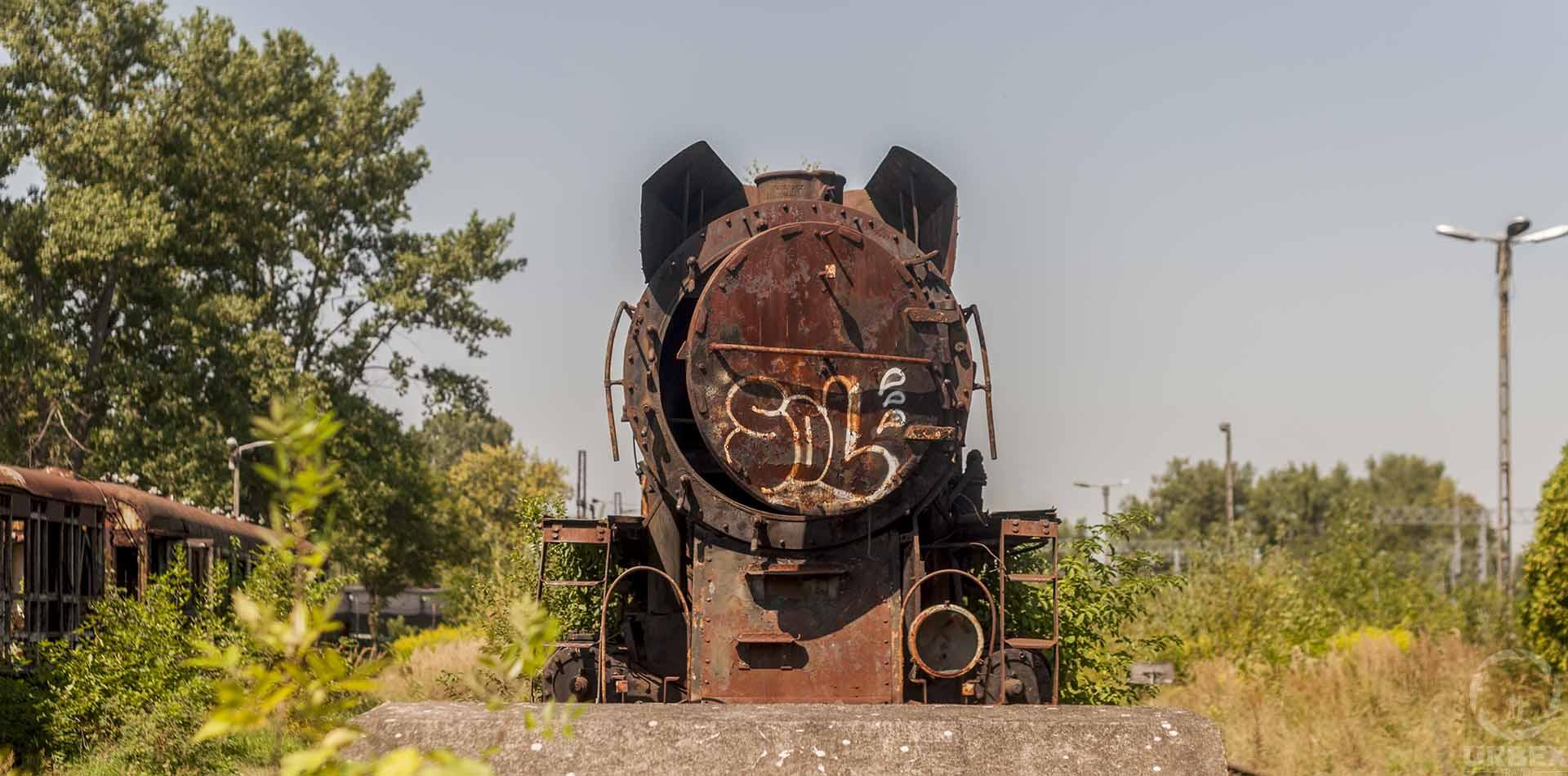 urbex abandoned trains