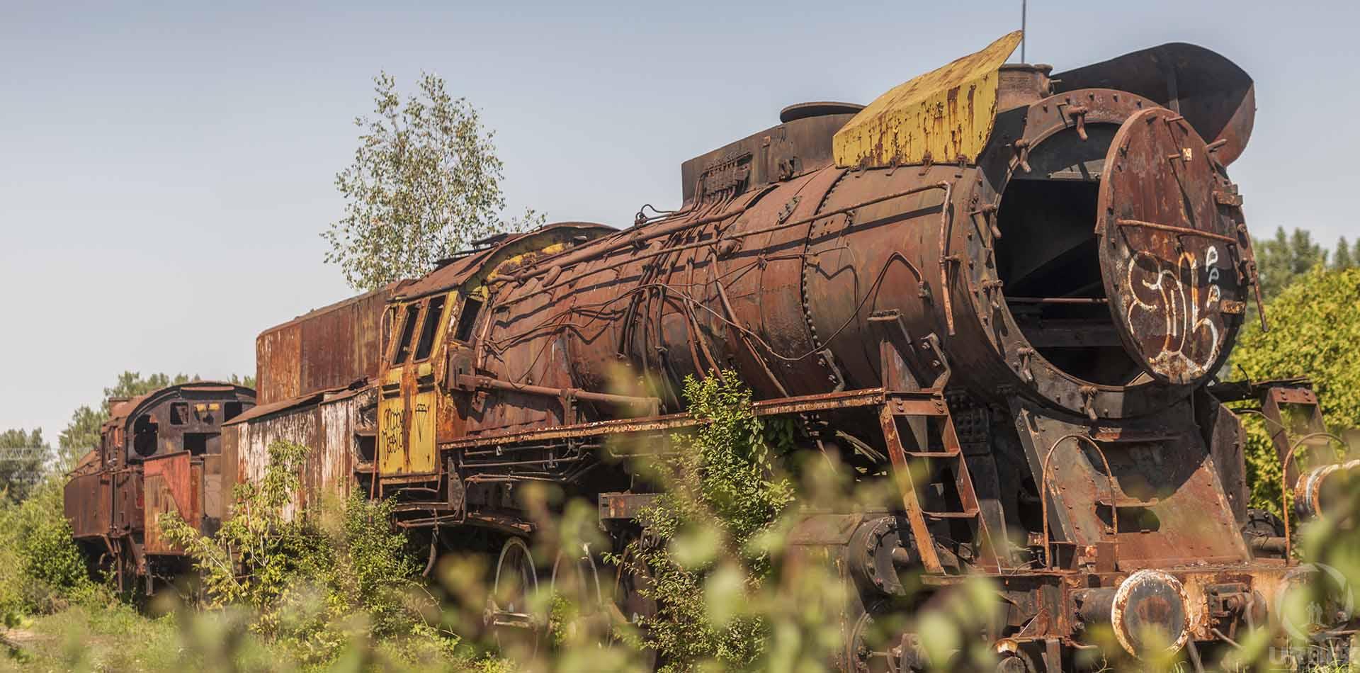 haunted abandoned railway station in poland
