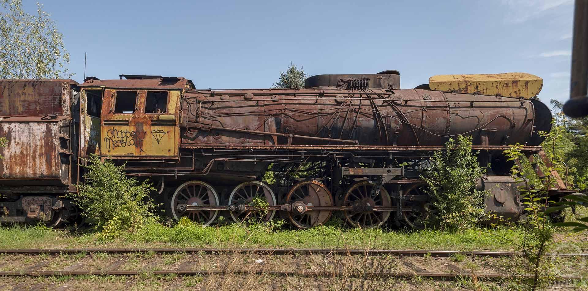 abandoned trains Krakow Płaszów