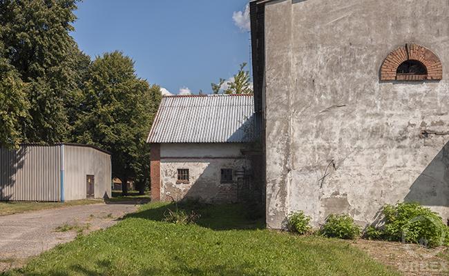 abandoned farm in Poland
