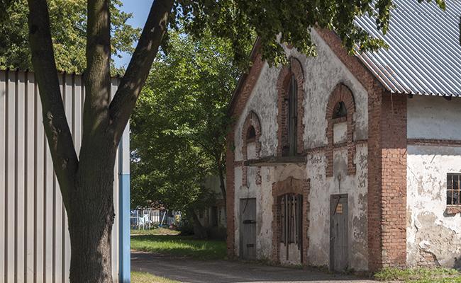 an abandoned farm in Poland