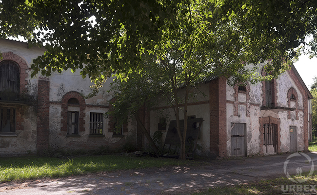 an old farm on rurex
