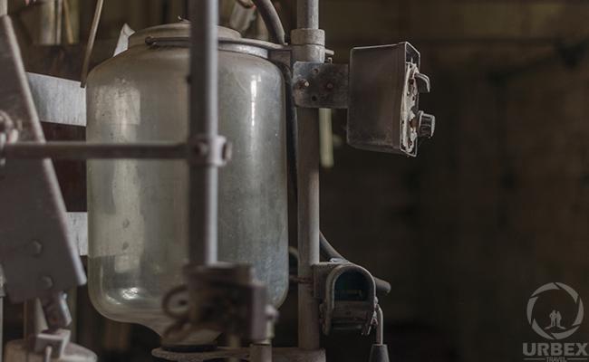 dairymaid in an abandoned farm