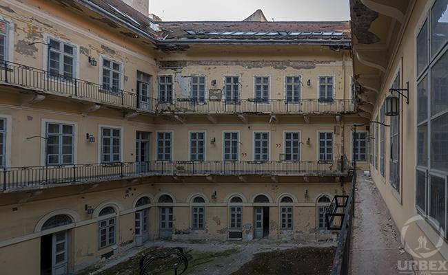 abandoned palace