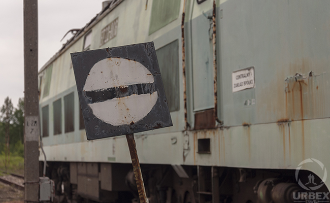 abandoned trains in maine