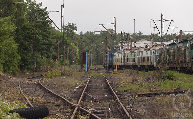abandoned trains for sale