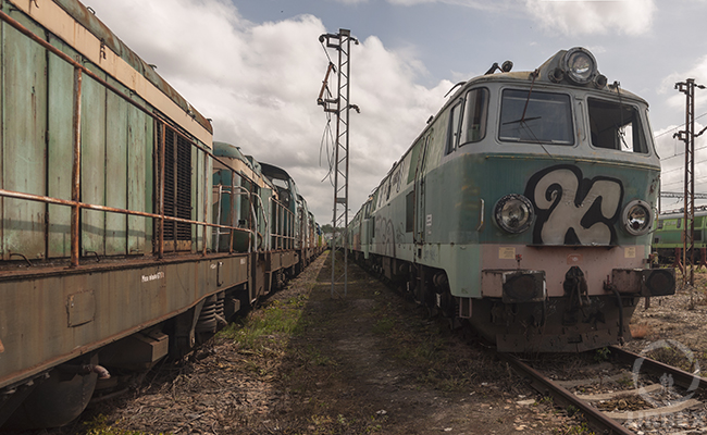 Abandoned Locomotives From Modern Times – A Train Graveyard In Poland