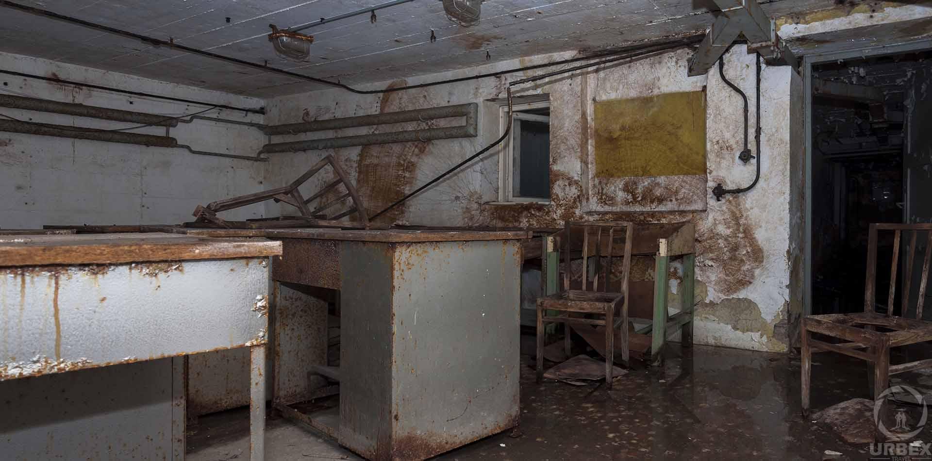 Abandoned Cold War Shelter