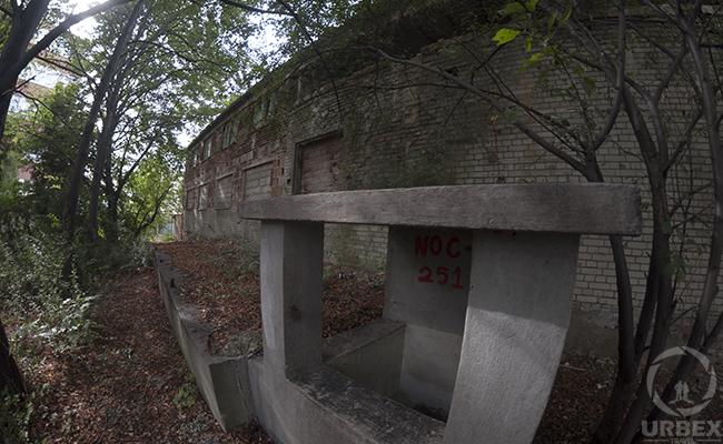 military bunker exterior