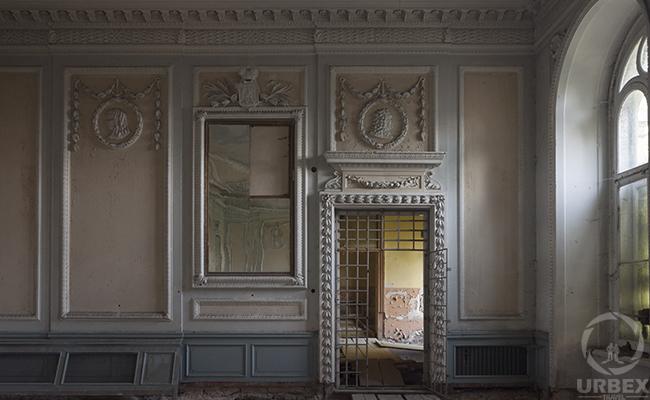 ballroom in haunted palace