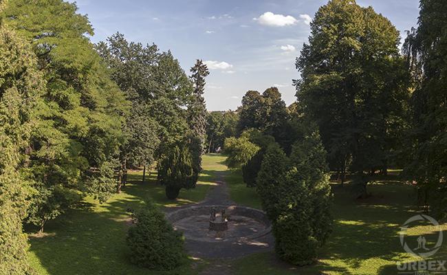 park in Pilica