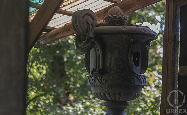 an ancient vase