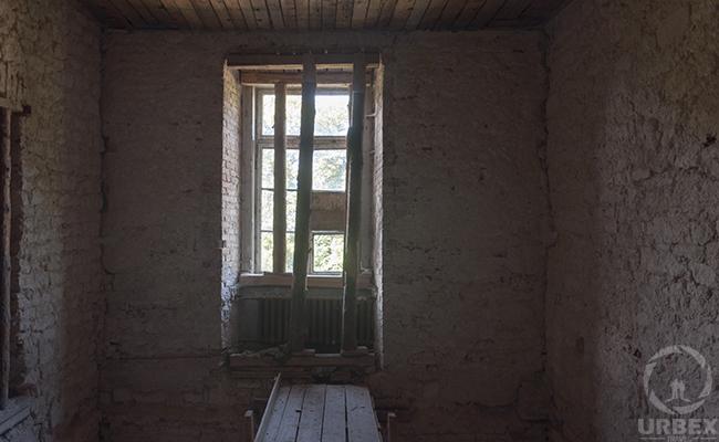 abandoned haunted palace in Poland