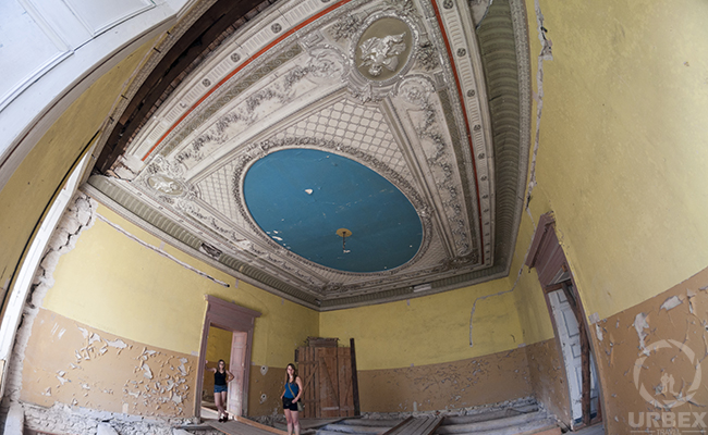 blue ball room
