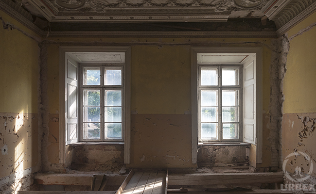 ghosts in an abandoned haunted palace