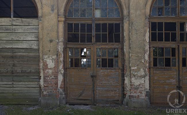 haunted palace door