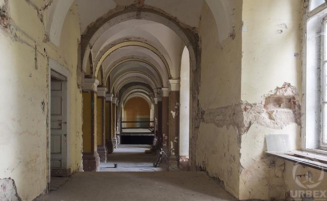 haunted palace corridors