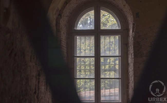 big window in an old palace