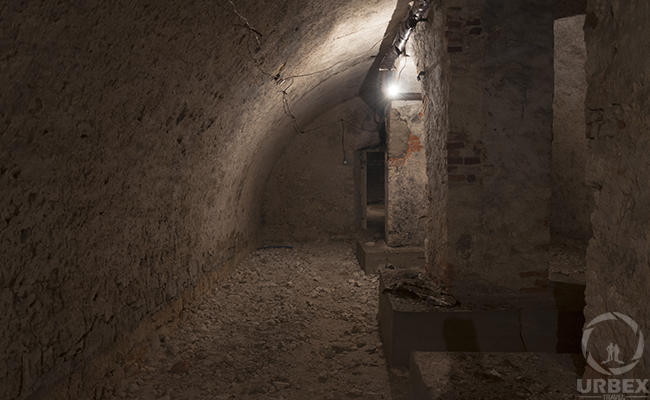 the basement of the haunted palace