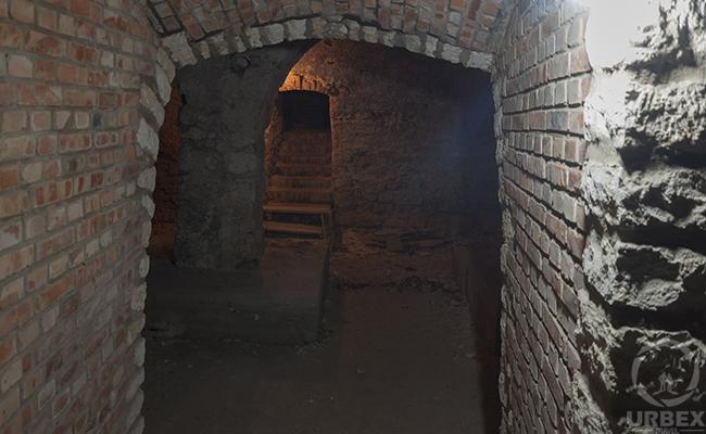 underground in forgotten palace