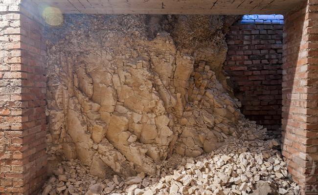an old basement