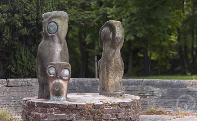 owls sculpture in Poland