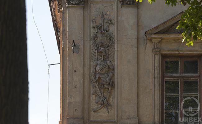 haunted palace facade