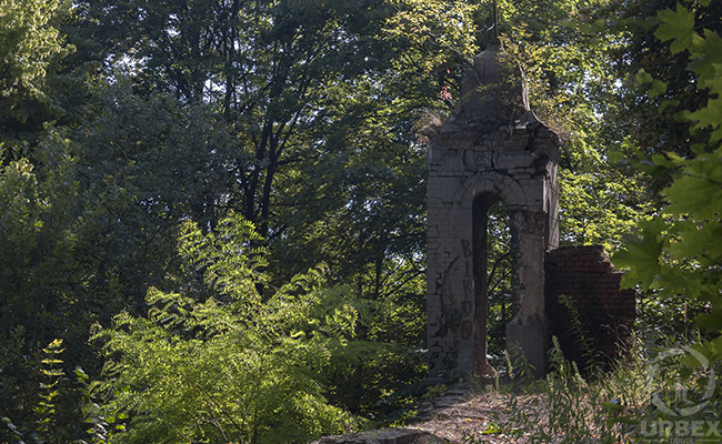 ruins of the palace garden