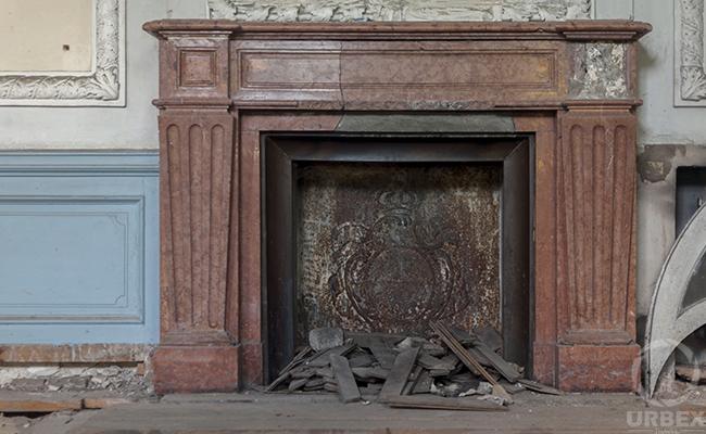 forgotten abandoned Castle in Pilica