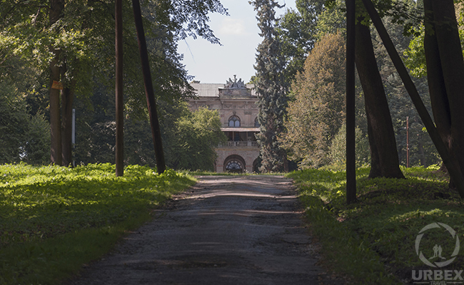 path to the abandoned palace
