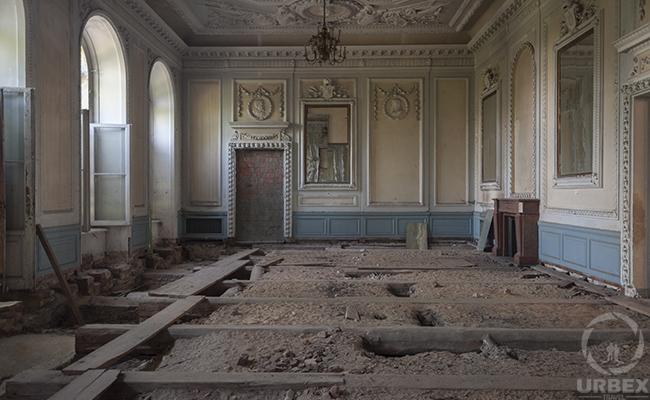 Johnson & Johnson palace abandoned chateau