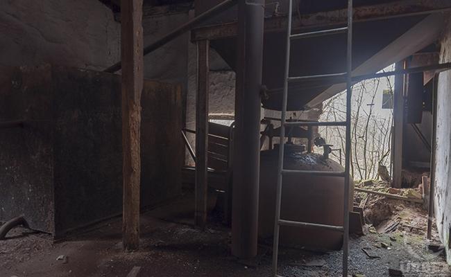 abandoned distillery laboratory