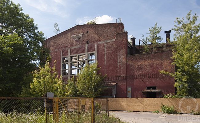 abandoned warehouse in Ursus factory