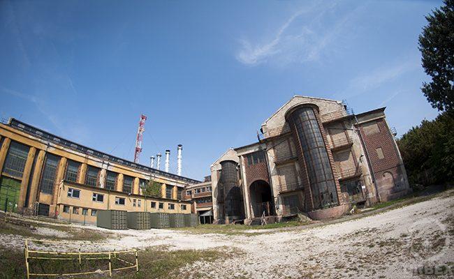 Kelenföld Power Plant Outside