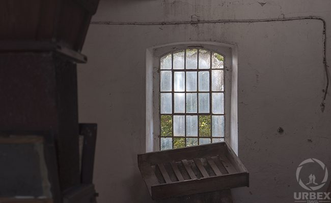 Window In An Abanoned Building