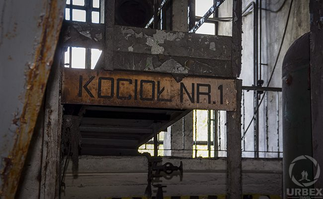 urbex in an abandoned boiler room