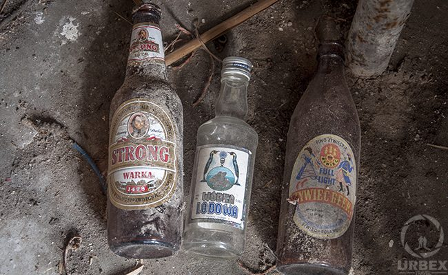 Bottles In An Abandoned Building