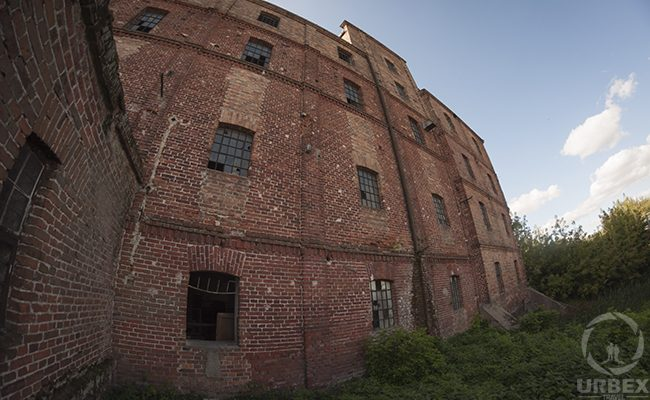 Abandoned Brick Building