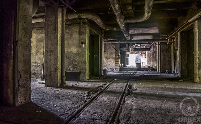 urbex in an abandoned building