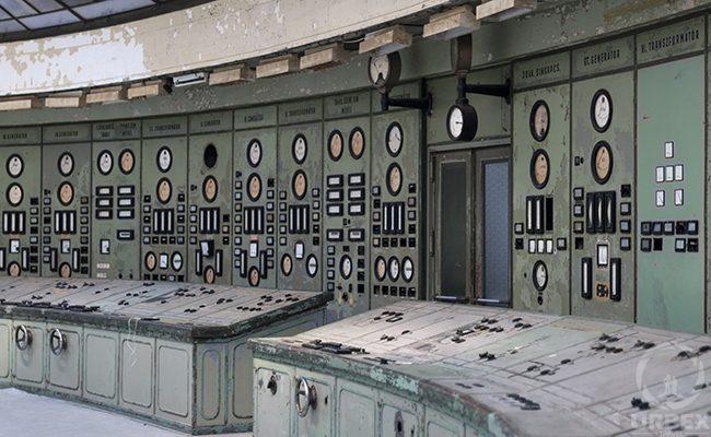 Controlroom in Kelenföld Power Plant