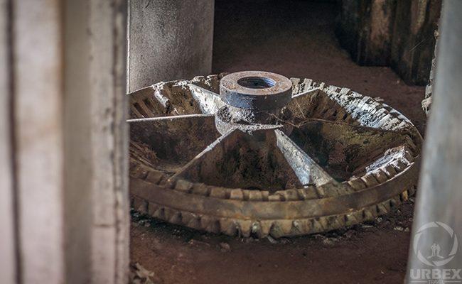 Abandoned Water Mill Gear