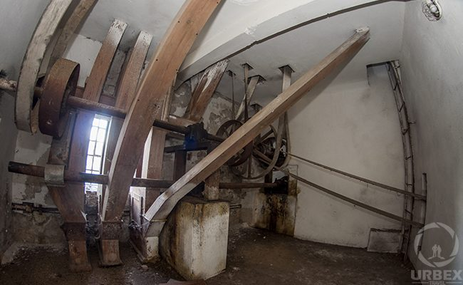 Inside Abandoned Water Mill