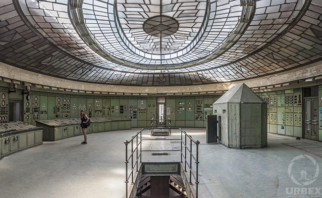 Kelenföld Power Plant inside