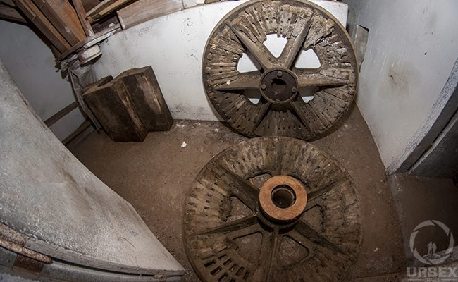 Abandoned Mill Wheel