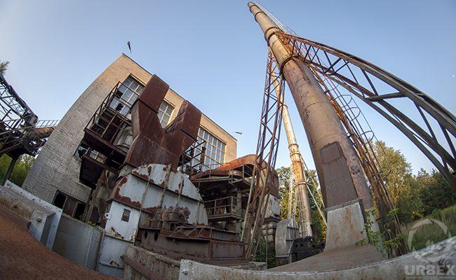 industrial urbex photography